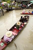 Asia, Thailand, Pattaya, Floating Market