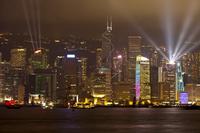 Asia, Hong Kong, Hong Kong Island, Victoria Harbor,