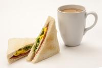 Breakfast, Milk Tea, Sandwich,