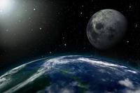 Planet Earth, Moon,