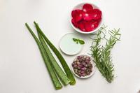 Aromatherapy Oil, Vanilla, Rosemary, Aloe, Rose Petals, Rose