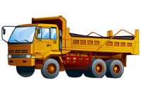 Truck, Illustration Technique,