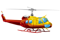 Helicopter, Illustration Technique,