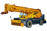 Crane, Illustration Technique,