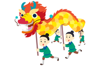 Dragon Dancer, New Year, Chinese New Year,