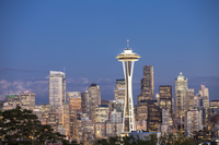 Seattle, Washington State, North America, America, Space Needle, 11010049770| 写真素材・ストックフォト・画像・イラスト素材|アマナイメージズ