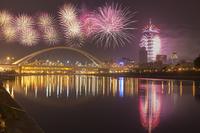 Taipei, Taiwan, Asia, Cityscape, Firework, 11010050018| 写真素材・ストックフォト・画像・イラスト素材|アマナイメージズ
