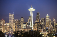 Seattle, Washington State, North America, America, Space Needle, 11010050073| 写真素材・ストックフォト・画像・イラスト素材|アマナイメージズ