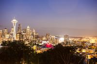 Seattle, Washington State, North America, America, Space Needle, 11010050074| 写真素材・ストックフォト・画像・イラスト素材|アマナイメージズ