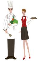 Chef, Waitress,