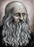 Leonardo Vinci, Fine Art Portrait,
