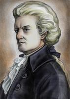 Wolfgang Amadeus Mozart, Fine Art Portrait,