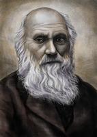 Charles Robert Darwin, Fine Art Portrait,