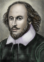 William Shakespeare, Fine Art Portrait,