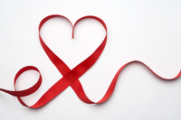 Ribbon, Heart Shape, Love,