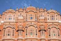 Wind Palace, Jaipur, India, Asia,