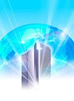 地球のイメージ(未来) CG