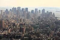 ニューヨークのビル群
