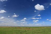 青空と大地