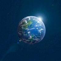 地球と光 11011011601| 写真素材・ストックフォト・画像・イラスト素材|アマナイメージズ