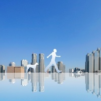 東京の街と歩く人 11011011630| 写真素材・ストックフォト・画像・イラスト素材|アマナイメージズ