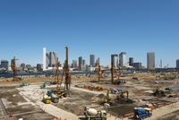 豊洲市場工事風景