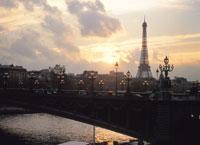 エッフェル塔と空 フランス