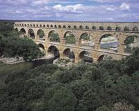 ポンデュガール水道橋 フランス