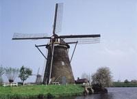 キンデルダイクの風車 オランダ