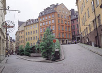ガムラスタンの街並み スウェーデン