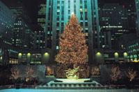 ロックフェラーセンターのクリスマスツリー 11012009925| 写真素材・ストックフォト・画像・イラスト素材|アマナイメージズ