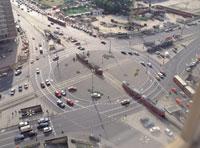 交差点 11012011286| 写真素材・ストックフォト・画像・イラスト素材|アマナイメージズ