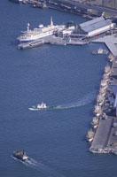 函館港と摩周丸
