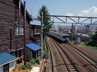 函館本線 11012011534| 写真素材・ストックフォト・画像・イラスト素材|アマナイメージズ