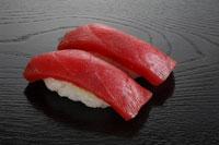 マグロの寿司 2貫