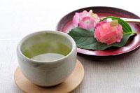 緑茶と和菓子