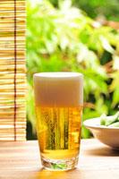 ビールと枝豆
