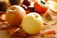 梨と柿と栗