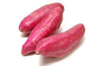 3本のサツマイモ