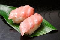 にぎり寿司(マグロ大トロ)