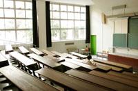 大学の教室の光景