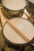 ドラムとスティック