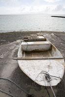 竹富島の小型漁船