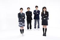 中学生たち 11014009499| 写真素材・ストックフォト・画像・イラスト素材|アマナイメージズ