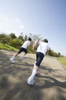 走る中学生 11014019645| 写真素材・ストックフォト・画像・イラスト素材|アマナイメージズ