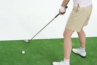 女性ゴルファー