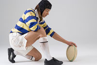ラグビー選手 11014021601  写真素材・ストックフォト・画像・イラスト素材 アマナイメージズ