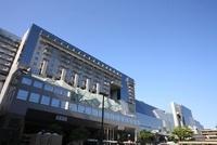 京都駅ビルの外観