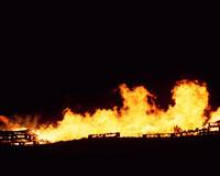 A burning fire 11015012650| 写真素材・ストックフォト・画像・イラスト素材|アマナイメージズ