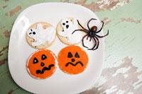 Halloween cookies 11015053960| 写真素材・ストックフォト・画像・イラスト素材|アマナイメージズ